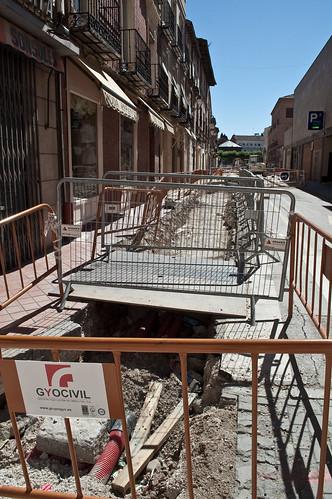 Obras en los aledaños del mercado municipal (II)