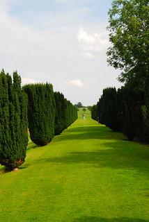 The Long Walkway at Melford Hall