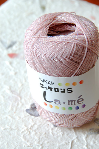Very light, very gorgeous lace yarn from Japanese brand Nikke.