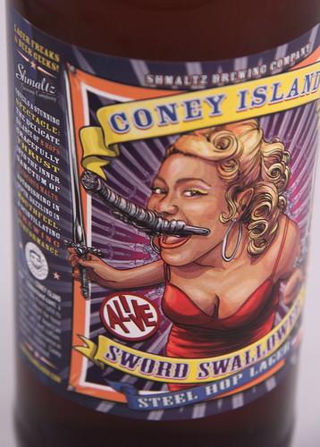 Coney Island Sword Swallower