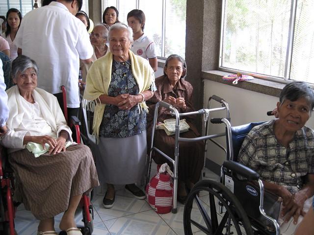 The old folks of Lipa
