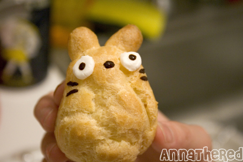 Totoro Cream Puffs - So Cute It Hurts