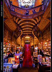 Livraria Lello E Irmao(Opporto) World's 3rd most beautiful bookstore