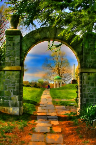 Spring through the Arch