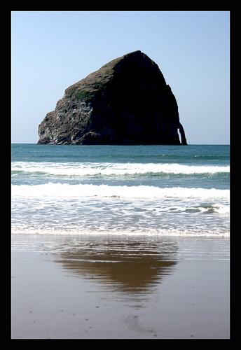 At the Oregon Coast today