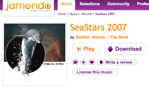Download this album for free: SeaStars 2007 - Jamendo