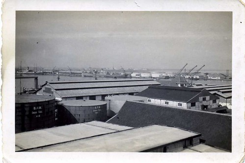 zeehaven/seaport Torrabon , Dutch Indies , late 1930's