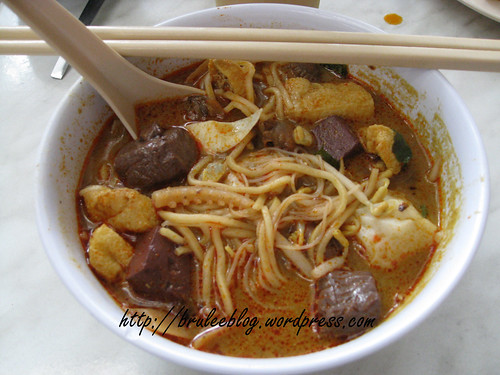 Curry mee - New World Park, Georgetown, Penang