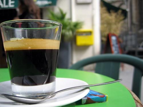 Coffee in Lyon.