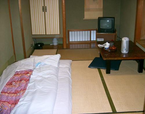 Ryokan. Mi habitación