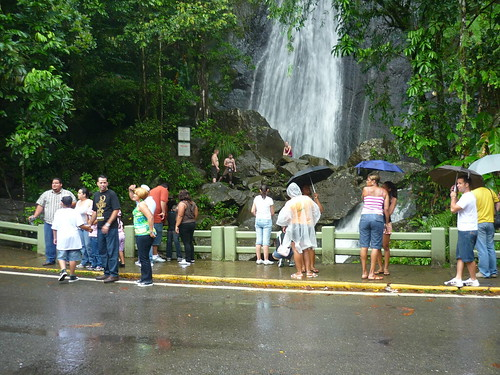 Tourists in El Yunque