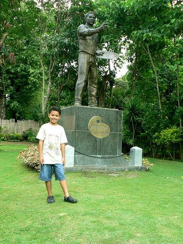 Juan Luna Shrine_Monument