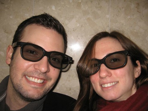 Jeremy and I Sporting 3D Glasses