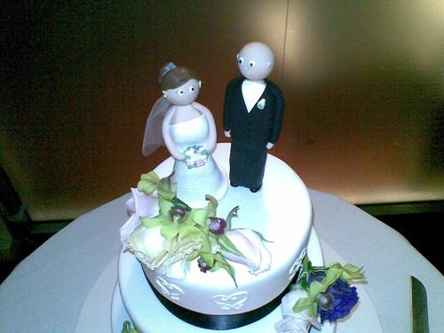 Wedding Cake Topper by a.l.i.c.i.o.u.s..