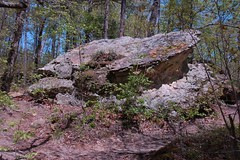 Toppled Rock