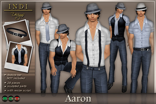 Aaron blue