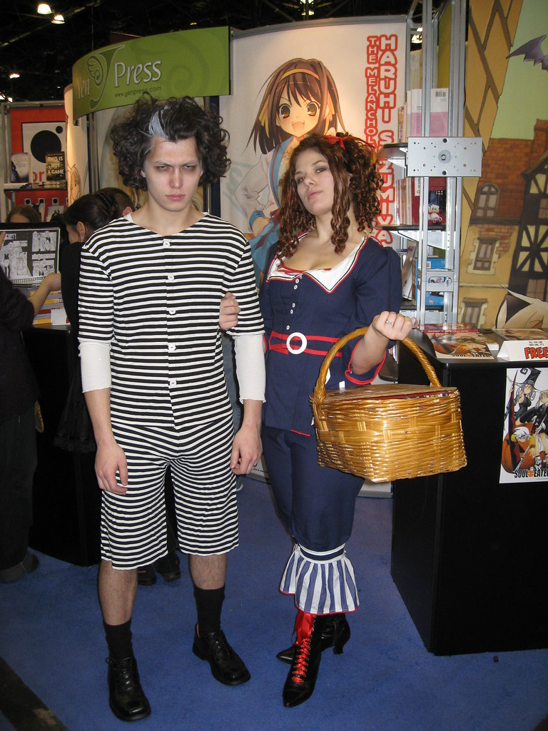 Sweeny Todd and Mrs. Lovett a la picnic fantasy. Probably my favorite of the day.