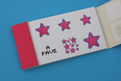 A FAVE MOO sticker book