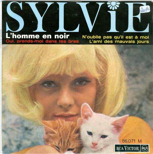 Vartan, Sylvie - L'homme en noir -  1964