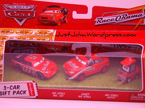 Disney CARS Team No Stall 3 pack