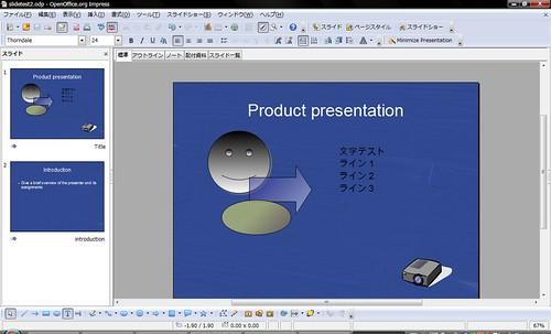 Slide as Prepared on OpenOffice.org 3.1 RC2
