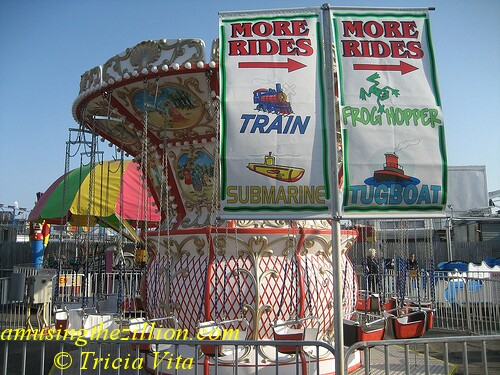 McCulloughs Kiddie Park in Coney Island has a dozen rides. Photo © Tricia Vita/me-myself-i via flickr