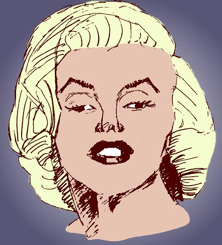 Marilyn Monroe, part 2 (colored)