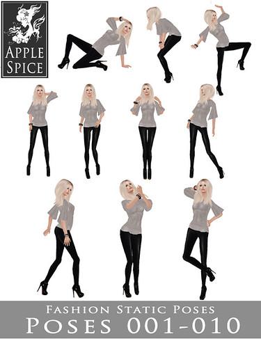 Apple Spice - Fashion Static Poses