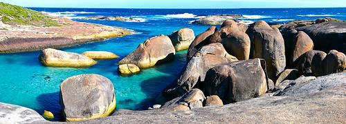 Elephant Rocks von oben