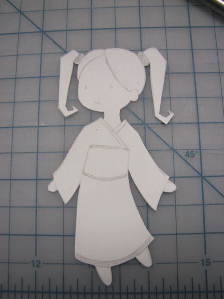 Girly cut-out