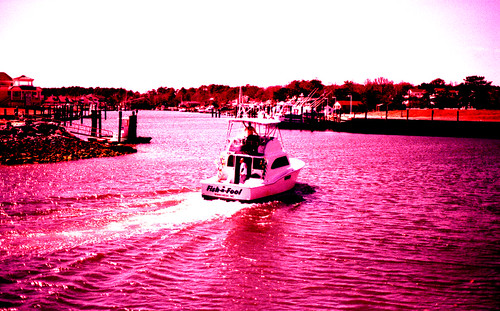 X-Pro Fishing Boat. (Fuji Astia 100F — Cross-Processed. Nikon F100. Epson V500.)