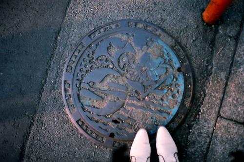 鎌倉地下水道蓋