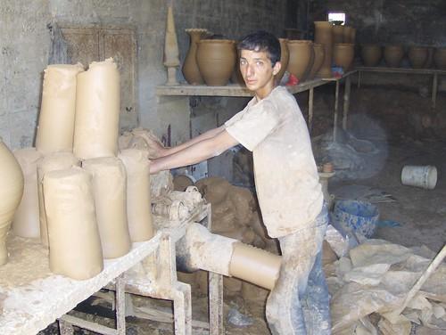 صناعة الفخار الخزف الخليل