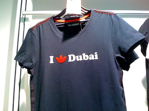 Adidas' I love Dubai shirt