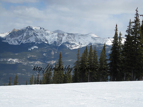 The Rocky Mountains in Jasper, Alberta