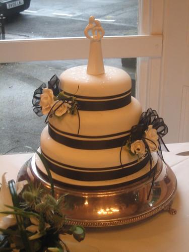 3461061060 2c681daa55 Baú de ideias: Decoração de casamento preto e branco