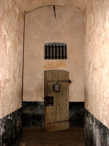 Celdas de confinamiento aislado en la Île Royale - CC Nicholas Laughlin