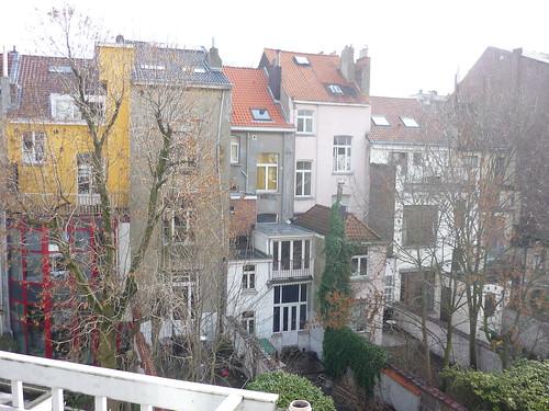 Brussels backyards
