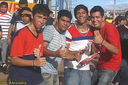 Estudantes Grande Passeata 20 por você.