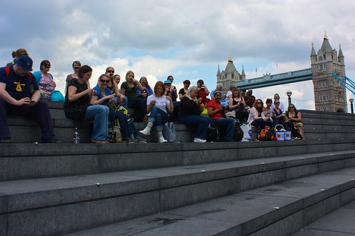 Knit Crawl Stop One: Tashes at Tower Bridge