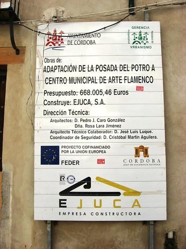 . Ya mismo se inaugura el Centro Municipal de Arte Flamenco en la Posada del Potro y también carece de proyecto museistico.