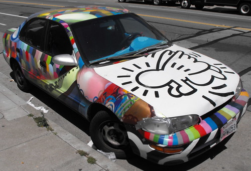 The Keith Haring Art Cars1