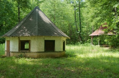 Chick Springs Springhouse and Gazebo