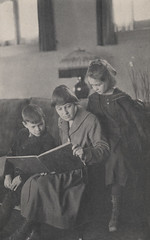 Mary Boyer, First School Teacher, Reading to S...