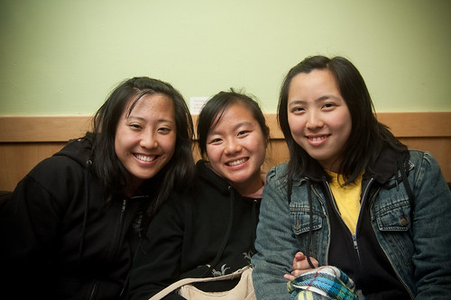Lily, Stephanie, and Angel