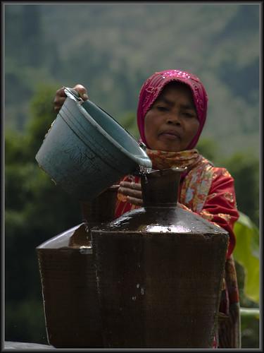 water filing