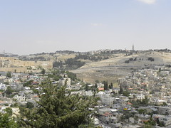 Mount of Olives and Ancient Jerusalem, by Ian W Scott