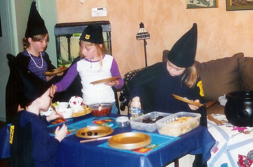 harry potter party feast