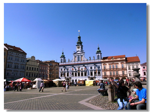 Ceske Budejovice, II. Ottokár tér (Fotó: Flickr)