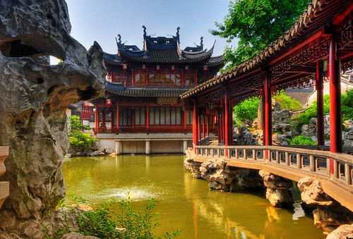 YuYuan Garden by Wolfgang Staudt, on Flickr
